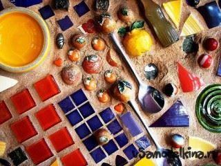 Поделки из мозаики