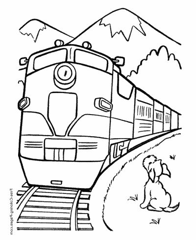 Train Coloring Sheets Coloring Page Pinterest Coloring Pages