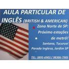 AULA PARTICULAR DE INGLES ZONA NORTE SANTANA TUCURUVI PARADA INGLESA - São Paulo - Cursos de Línguas