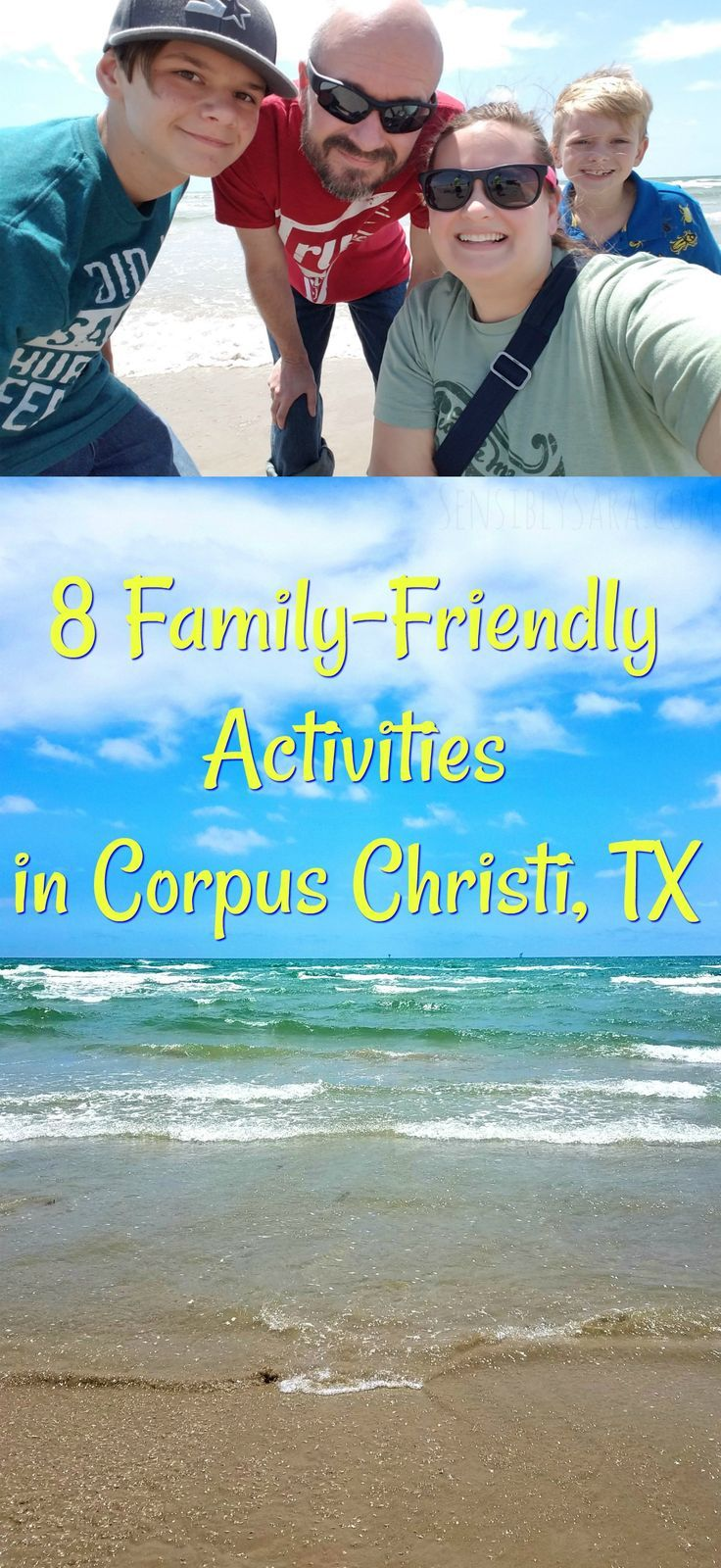 Family-Friendly Activities in Corpus Christi, TX [ad] #seecc | SensiblySara.com