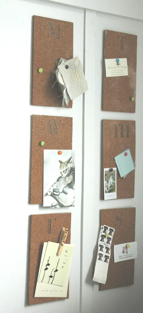 Weekly Pin Boards