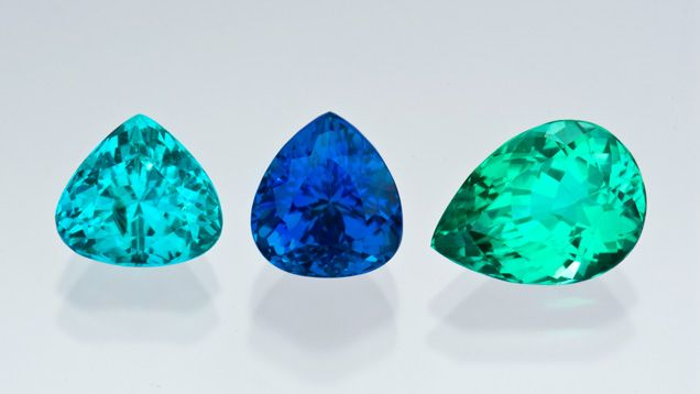 Paraiba Tourmaline Color Range
