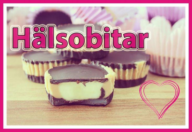 Hälsobitar - Tips mot sötsug  #banan #choklad #hälsobitar #jordnötssmör #kokosolja #recept #sötsug
