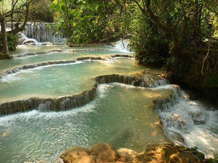 Kuang Si Falls | 2014 Trip Around The World | Off Exploring