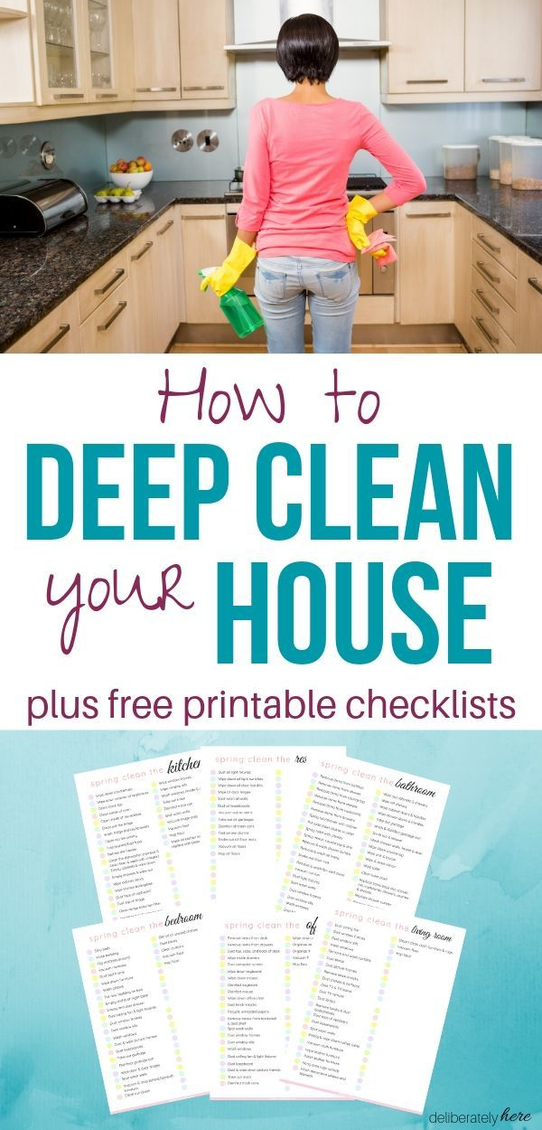 How To Deep Clean Your House Fast With The Best Expert Cleaning Tips Deep Cleaning Checklist House Cleaning Tips Deep Cleaning House