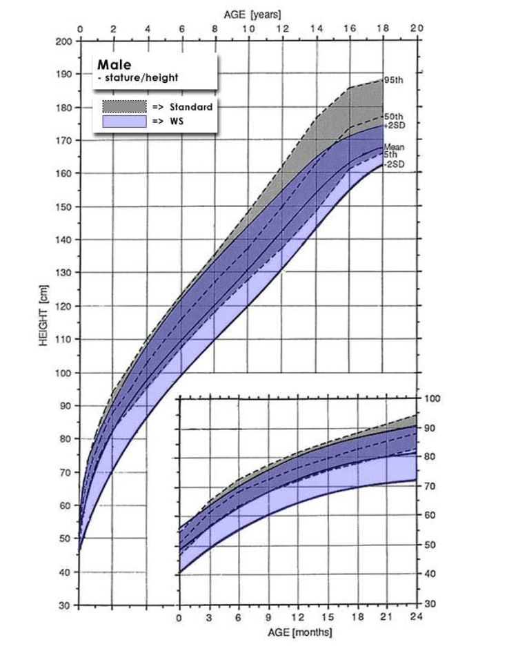 Male Growth Charts for Williams Syndrombe-Stature - Head Circumference, Height/Weight charts-  Pinned by SOS Inc. Resources @sostherapy http://pinterest.com/sostherapy.