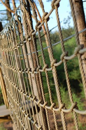 How to Make a Rope Cargo Net   eHow