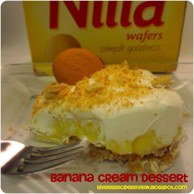 Nilla Wafers Banana Cream Dessert | The Recipe Critic
