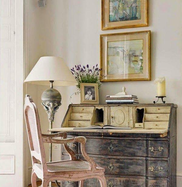 92 Best Painted Secretary Desk Images On Pinterest
