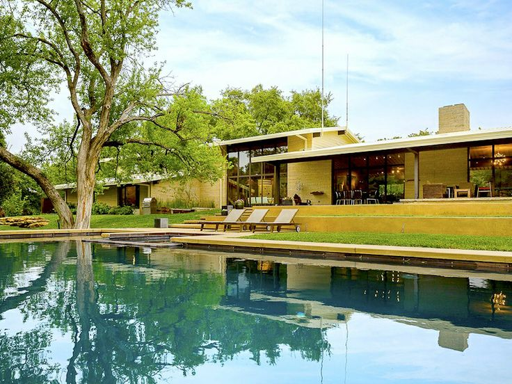 28 best images about dallas midcentury modern homes on for Contemporary home builders dallas