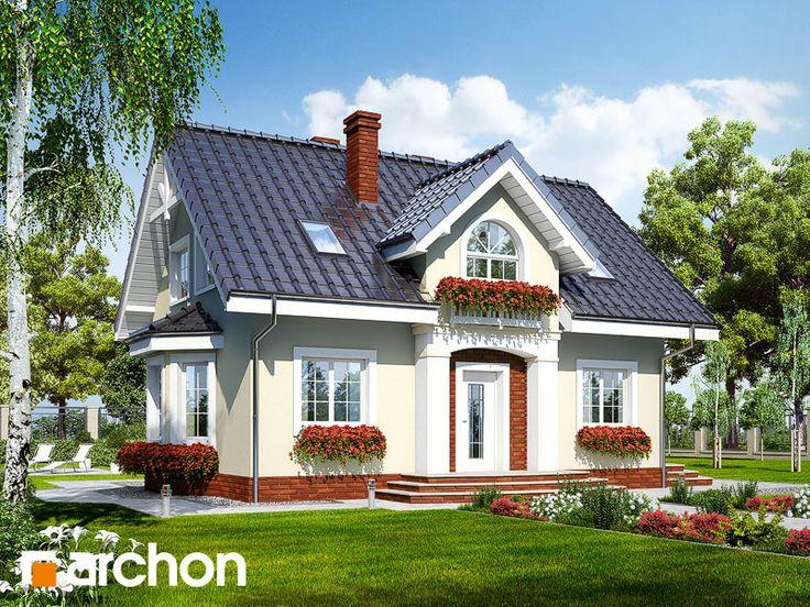 projekt Dom w kolendrze 2 widok 1