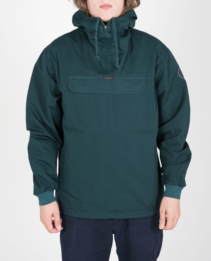 R-Collection Classic Anorak jacket 100% cotton