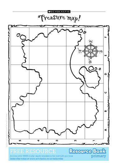Blank map--what land would you escape to?