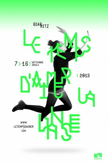Le temps d'aimer la danse - Ivan Rodéo Rodriguez • Designer graphique indépendant• Graphiste indépendant • freelance • photographe
