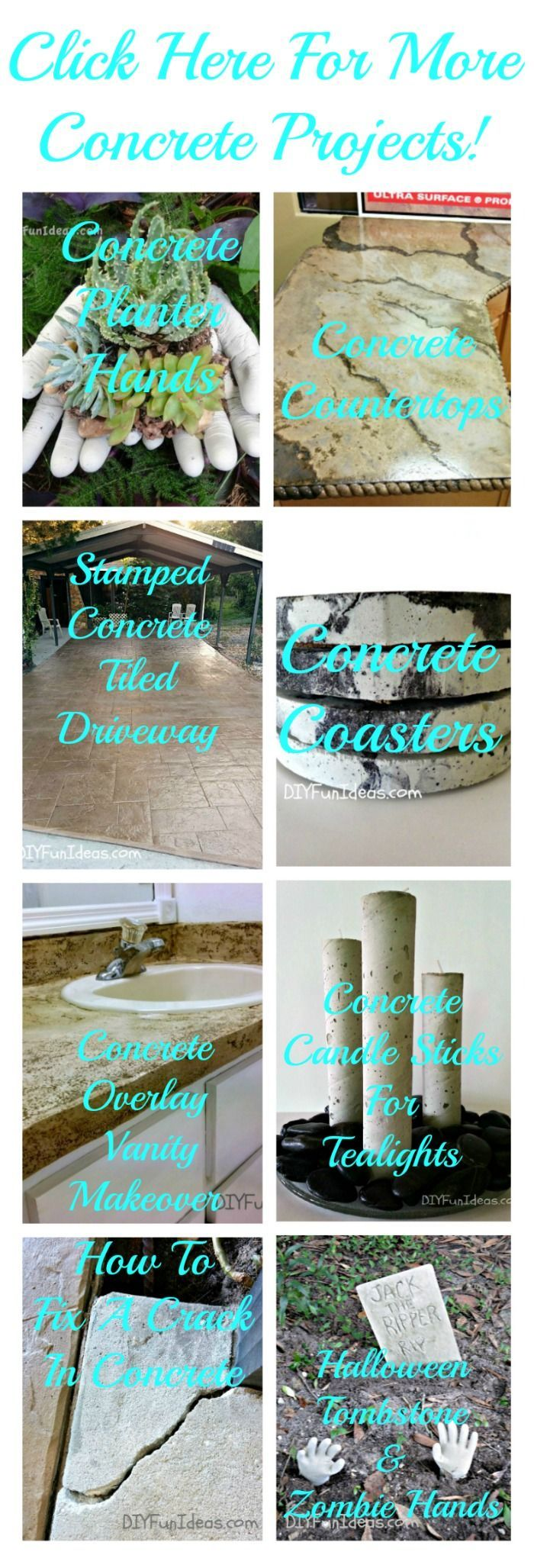 DIY Concrete Hand Planters & Bowls - Do-It-Yourself Fun Ideas