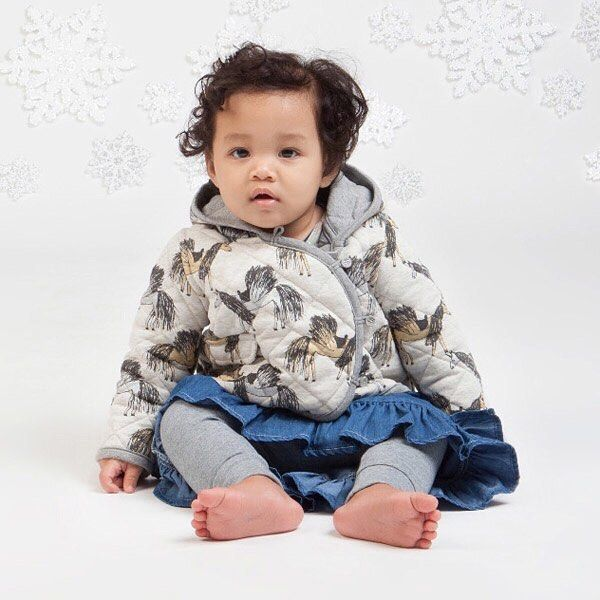 Take $10 off this gorgeous Little Wings Quilted Unicorns Jacket with spend & save code 10OFF. Hurry offer ends Sunday. @paperwingsaustralia #littlestyles