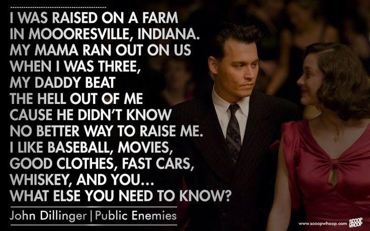 Dillinger - Johnny Depp