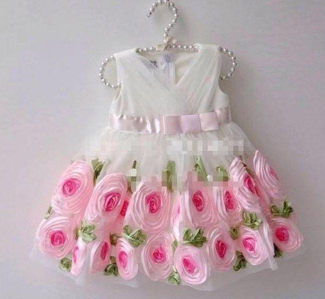 white dress for baby girl birthday