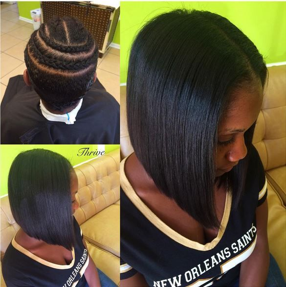 protective styling for relaxed hair 48 best relaxed hair styles images on hair cut 5140