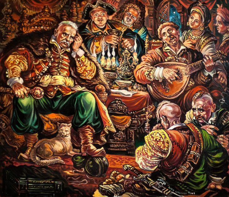 Українські художники – Олександр Литвинов