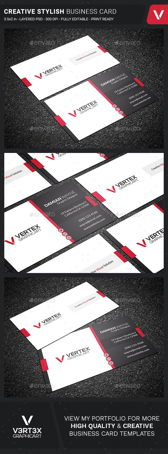 51 best card design images on pinterest graphics business card creative stylish business card template psd download here httpsgraphicriver reheart Choice Image