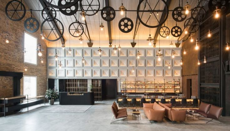 Asylum transforms Singapore spice warehouse into boutique hotel| City Lighting Products | Commercial Lighting | www.facebook.com/CityLightingProducts