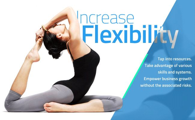 Increase flexibility - Remote outsourcing staff
