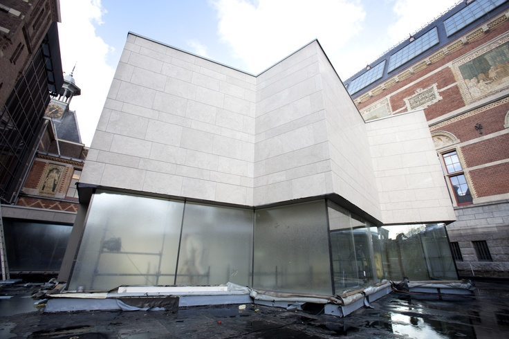 The new Asian Pavilion. Follow us on our way to reopening in 2013! www.rijksmuseum.nl. Photo: Arie de Leeuw.