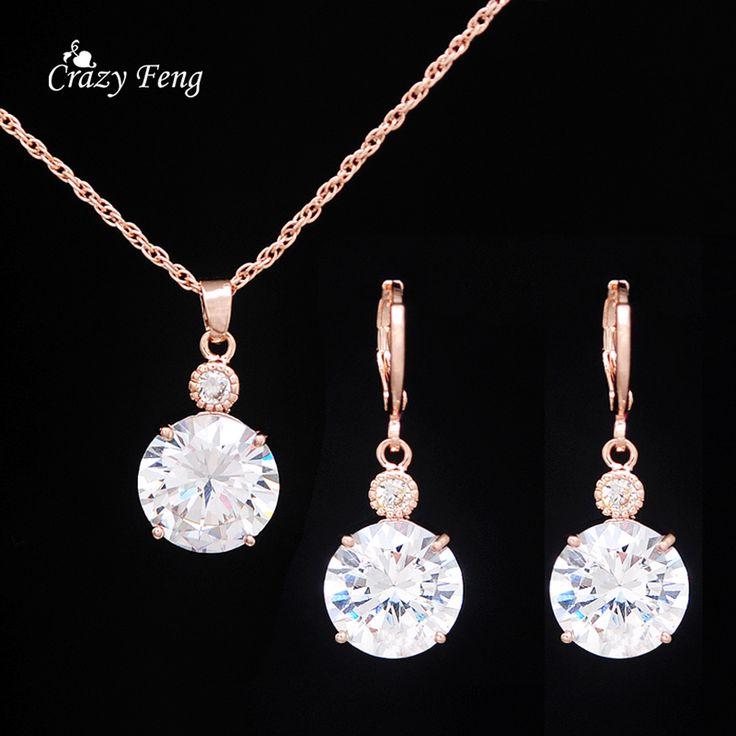 Women Gold Plated Ruby Wedding Bridal Jewelry Set //Price: $3.99 & FREE Shipping //     #fashionjewelry