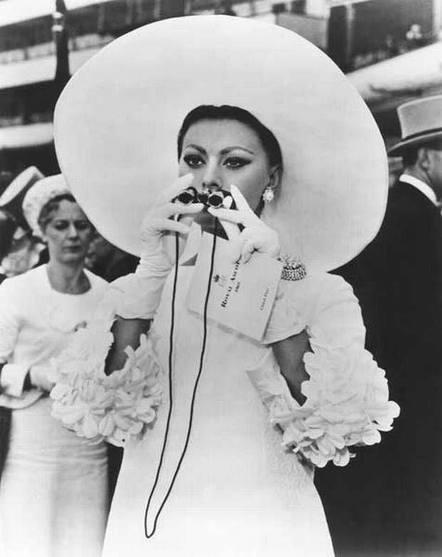 Sophia Loren | 1966 | Royal Ascot.