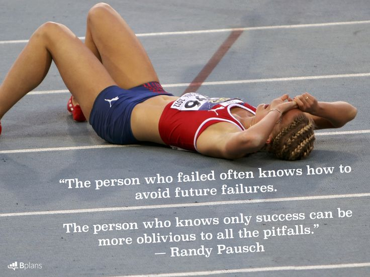 """The person who failed often knows how to avoid future failures. The person who knows only success can be more oblivious to all the pitfalls."" — Randy Pausc"