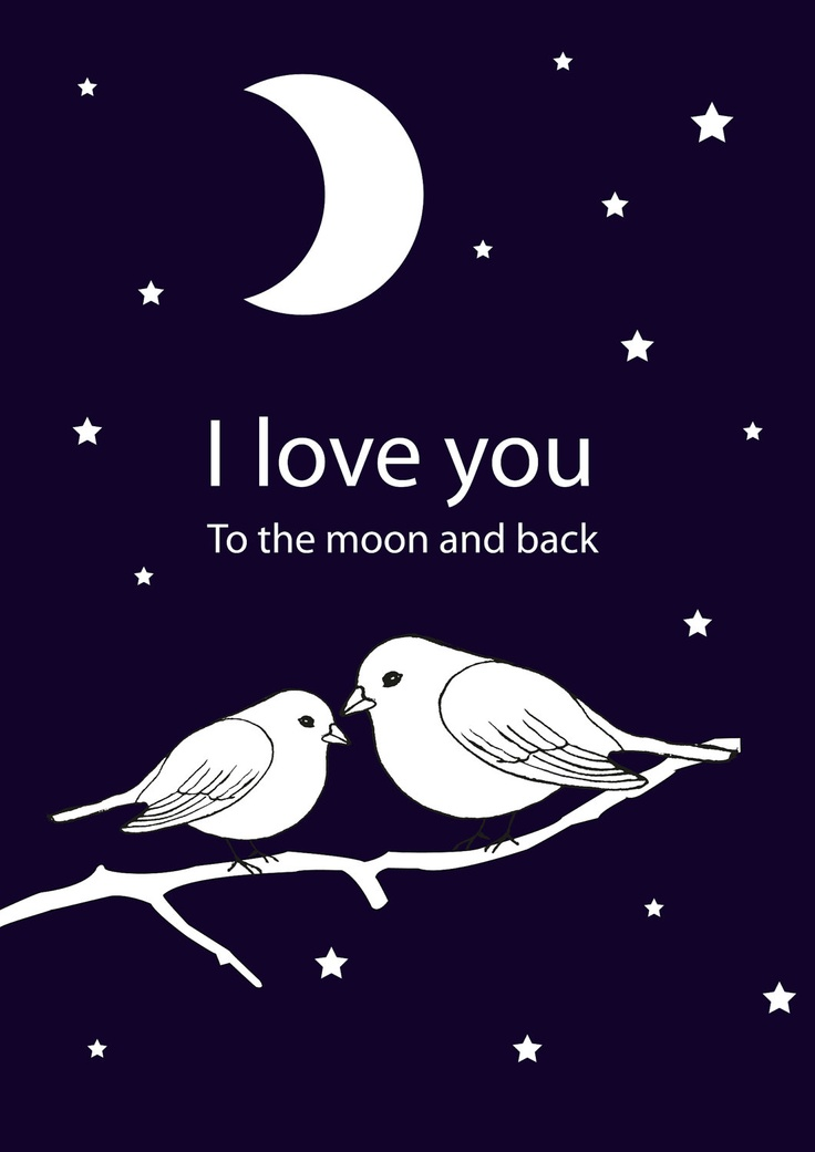 17 Best Images About Love You To The Moon And Back