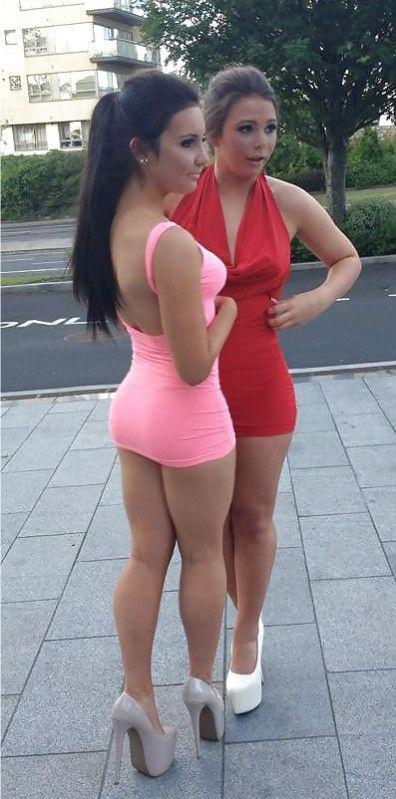 Ass, Skirts, Heels