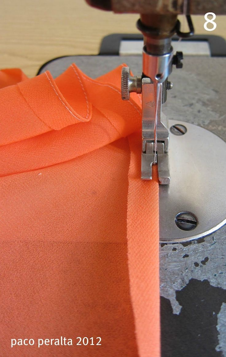 Detailed info for finishing seams on very sheer fabrics like gauze and chiffon - must read!
