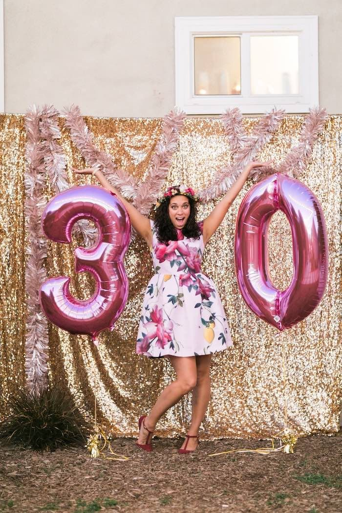 Sparkly 30th Birthday Bash on Kara's Party Ideas | KarasPartyIdeas.com (16)