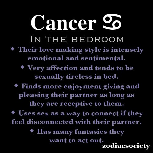 Virgo and cancer sex life