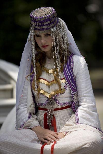 Anatolian traditional women's clothes....modern clothing design...Ankara Olgunlaşma Enstitüsü