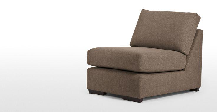 Abingdon, fauteuil modulable, brun châtaigne