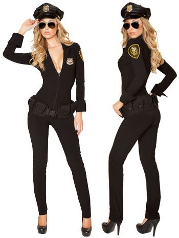 Sexy Law Enforcer Police Costume