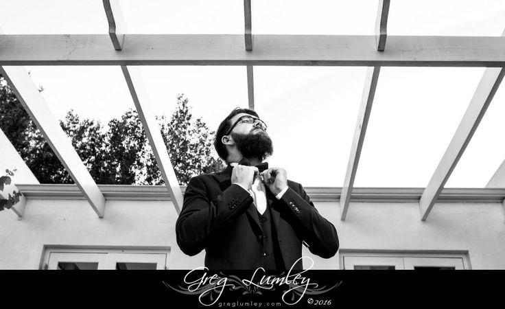 Wedding Groom.  Greg Lumley Photography