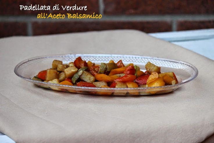 Giornisenzafretta: padellata di verdure su Vassoio Ovale  #Poloplast