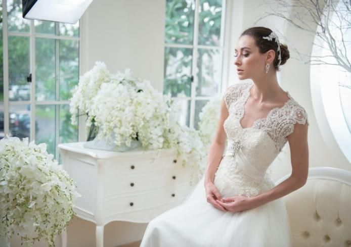 Cynthia Kusuma at www.bridestory.com. Visit our website for extensive list of wedding vendors and inspirations. #weddinginspiration #weddingideas #thebridestory #weddingdress #weddinggown