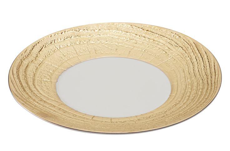 REVOL Arborescence Gold Plate
