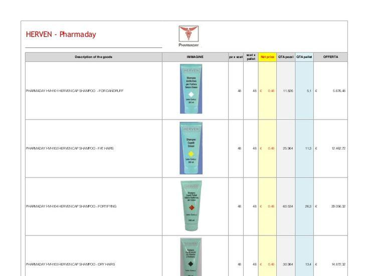 Профессиональная косметика для волос и лица HERVEN от Pharmaday –Сделано в Италии от компании Stockist.it