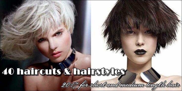 κοντά και μεσαίου μήκους μαλλιά