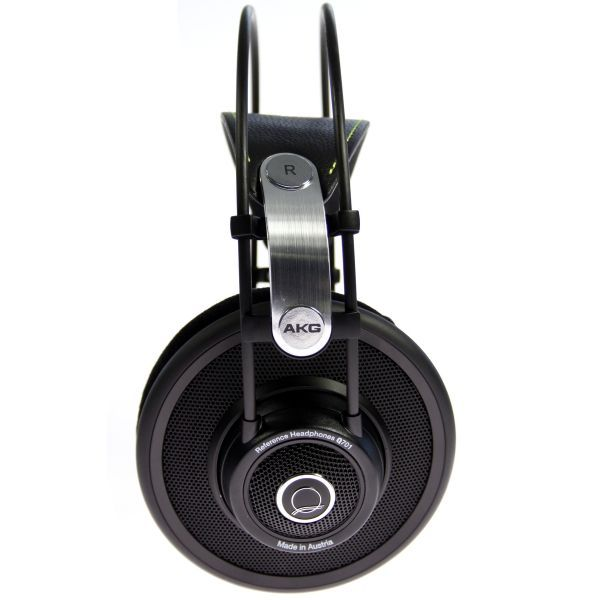 Offene Kopfhörer, wenn du deine Umgebung nicht komplett ausblenden willst und einen besonders luftigen Klang bevorzugst: AKG Q701 Premium - Kopfhörer ( Ohrenschale ) - Schwarz