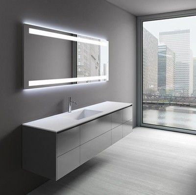 Die besten 25+ Badezimmerspiegel Ideen auf Pinterest Gerahmter - badezimmer spiegel beleuchtung