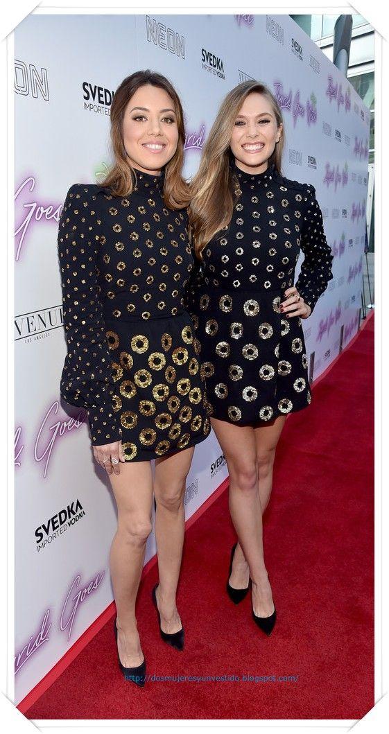 Aubrey Plaza y Elizabeth Olsen llevan el mismo vestido de Marc Jacobs a la premiere Ingrid Goes West. Esto lo hicieron como un guiño a la película que protagonizan ya que trata de una chica que persigue e imita en todo a una famosa
