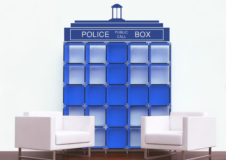 tardis roof top wall sticker is the perfect doctor who decoration to