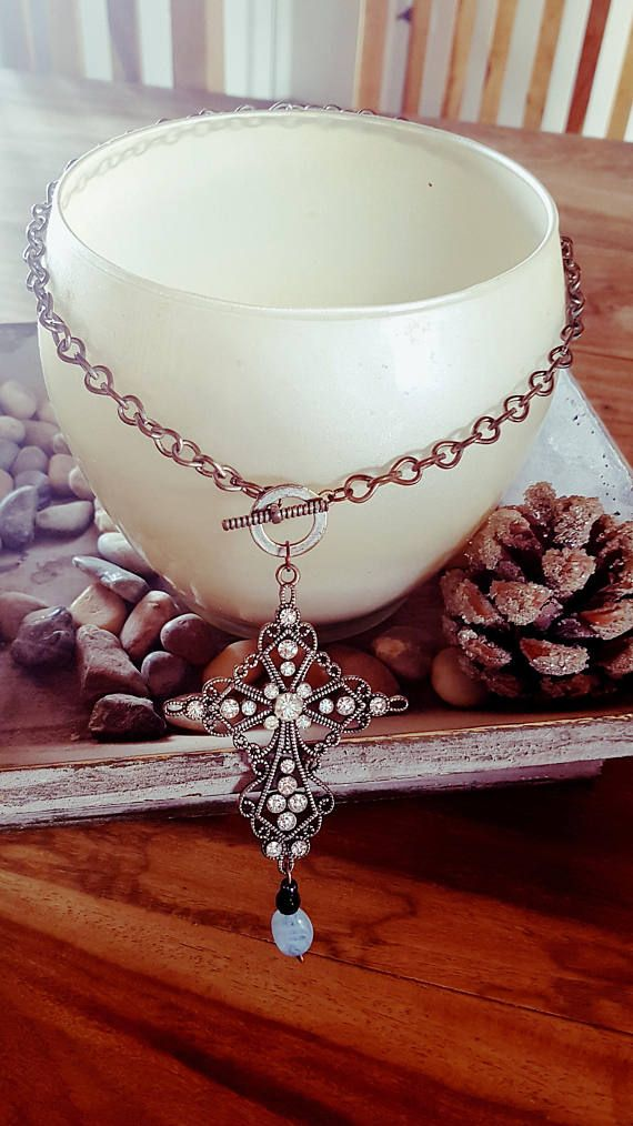 Check out this item in my Etsy shop https://www.etsy.com/au/listing/511183876/cross-necklace